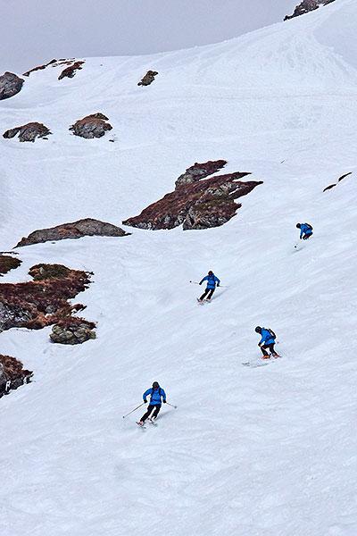 Niedere Tauern, ski day #17, Mar. 21st ©Janez