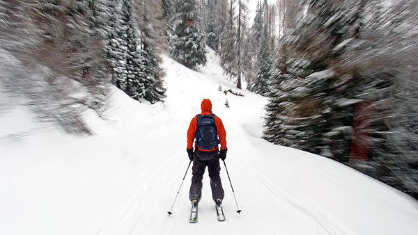 ...eck, ski day #18, Mar. 22nd