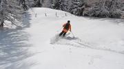 alm skipping @ Nockberge, ski day #6, Jan.18th