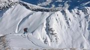 I would not be standing there, Mayrhofen, ski day #8, Jan 31st