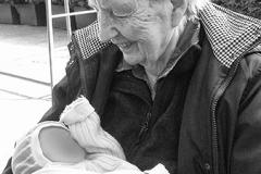 meeting great grandma, May 1st