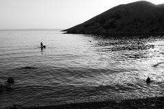 evening splash in the sea, Krk, Aug.8th
