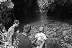 Cooling down in Predaselj slot canyon with Tomaž & Klavdija, Aug.19th